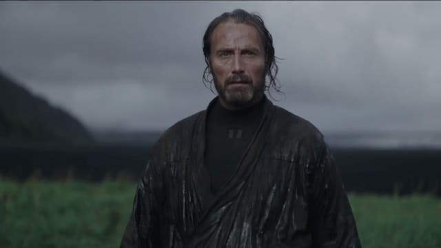 Finally, Mads Mikkelsen's Galen Erso has turned up in a trailer; confirming previous hints that he'd be somehow responsible for the Death Star's construction.   However, this new trailer reveals why daughter Jyn Erso (Felicity Jones) has become such a rebellious misfit; with Galen having been seized by the Empire when she was a young girl.