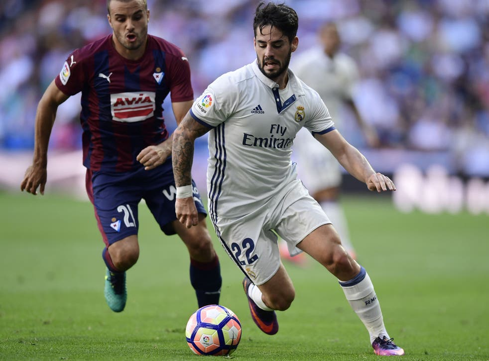 Isco has fallen out of favour at Real Madrid