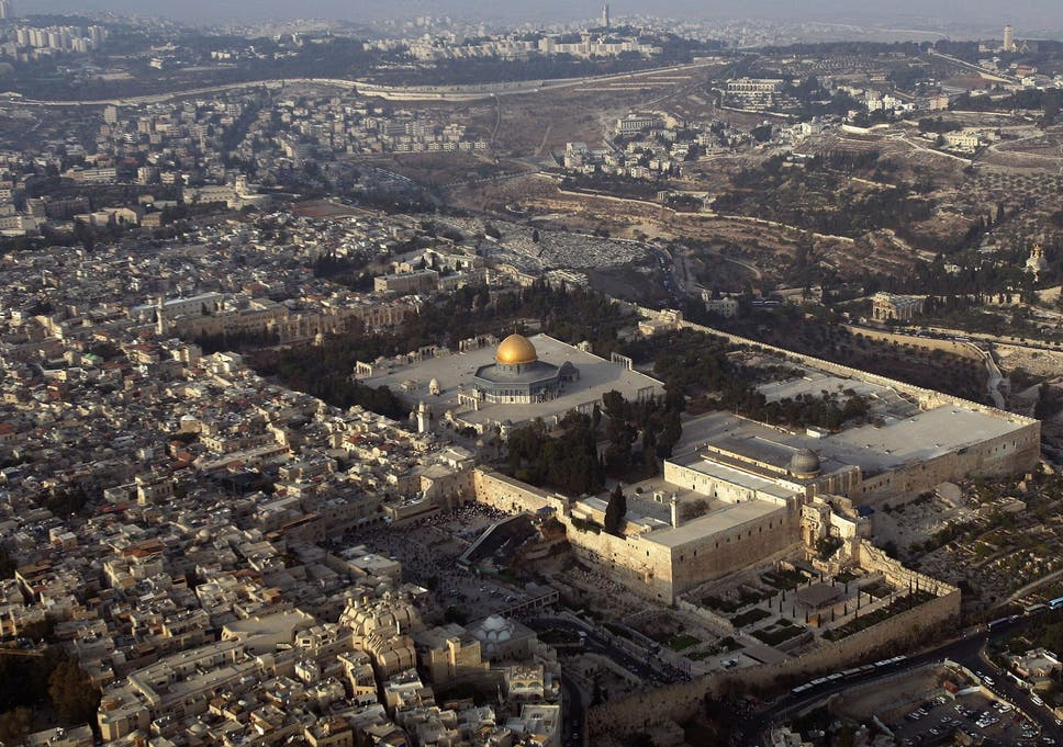finest selection 3d472 b164c Temple Mount: Jerusalem's most holy site has nothing to do ...