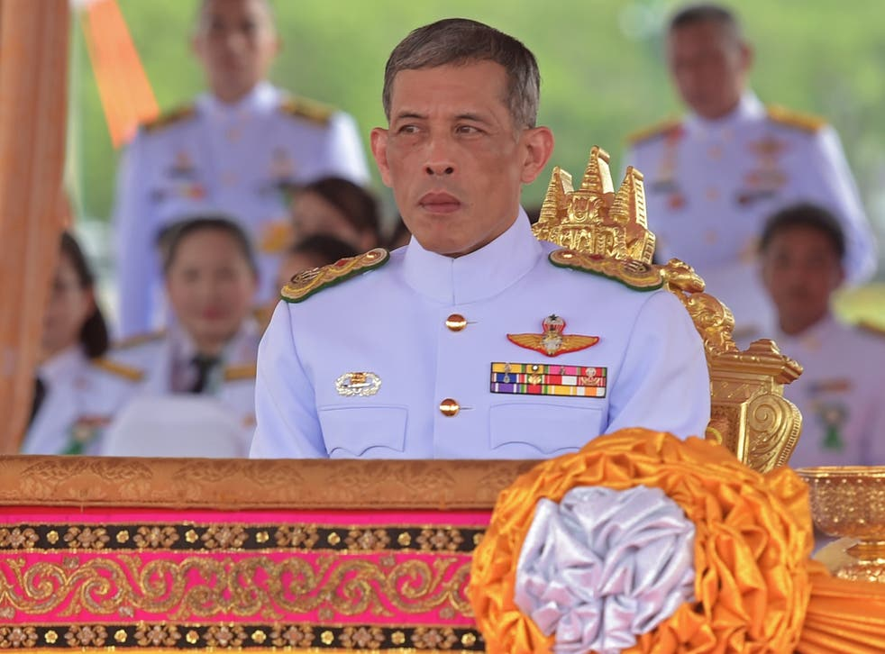 The Crown Prince has not inherited his father's popularity among people in Thailand