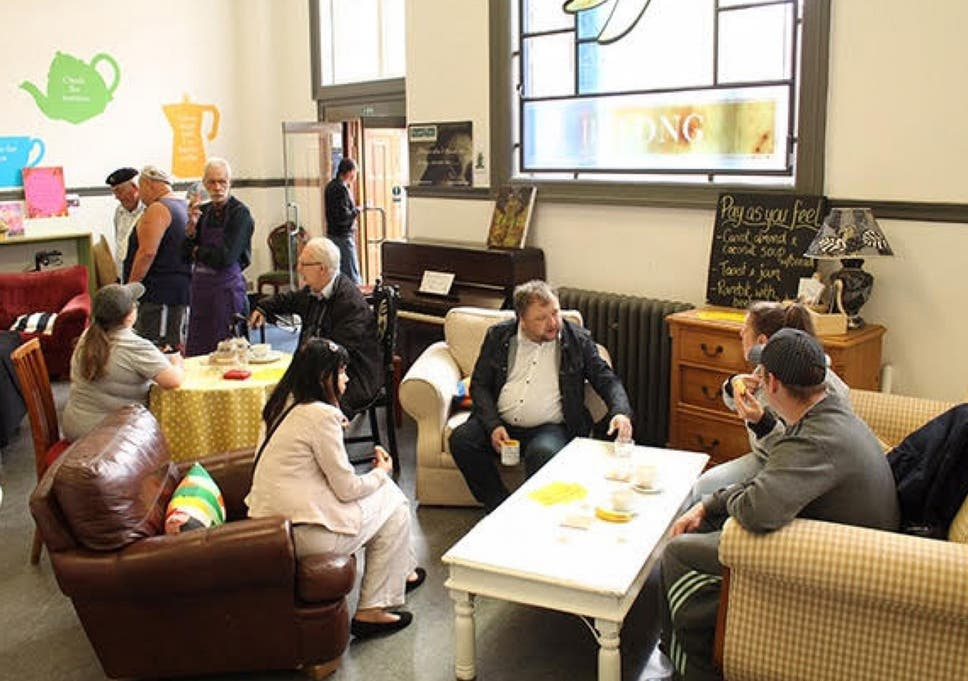 A Living Room In A Library Helps People Through Their Darkest Times