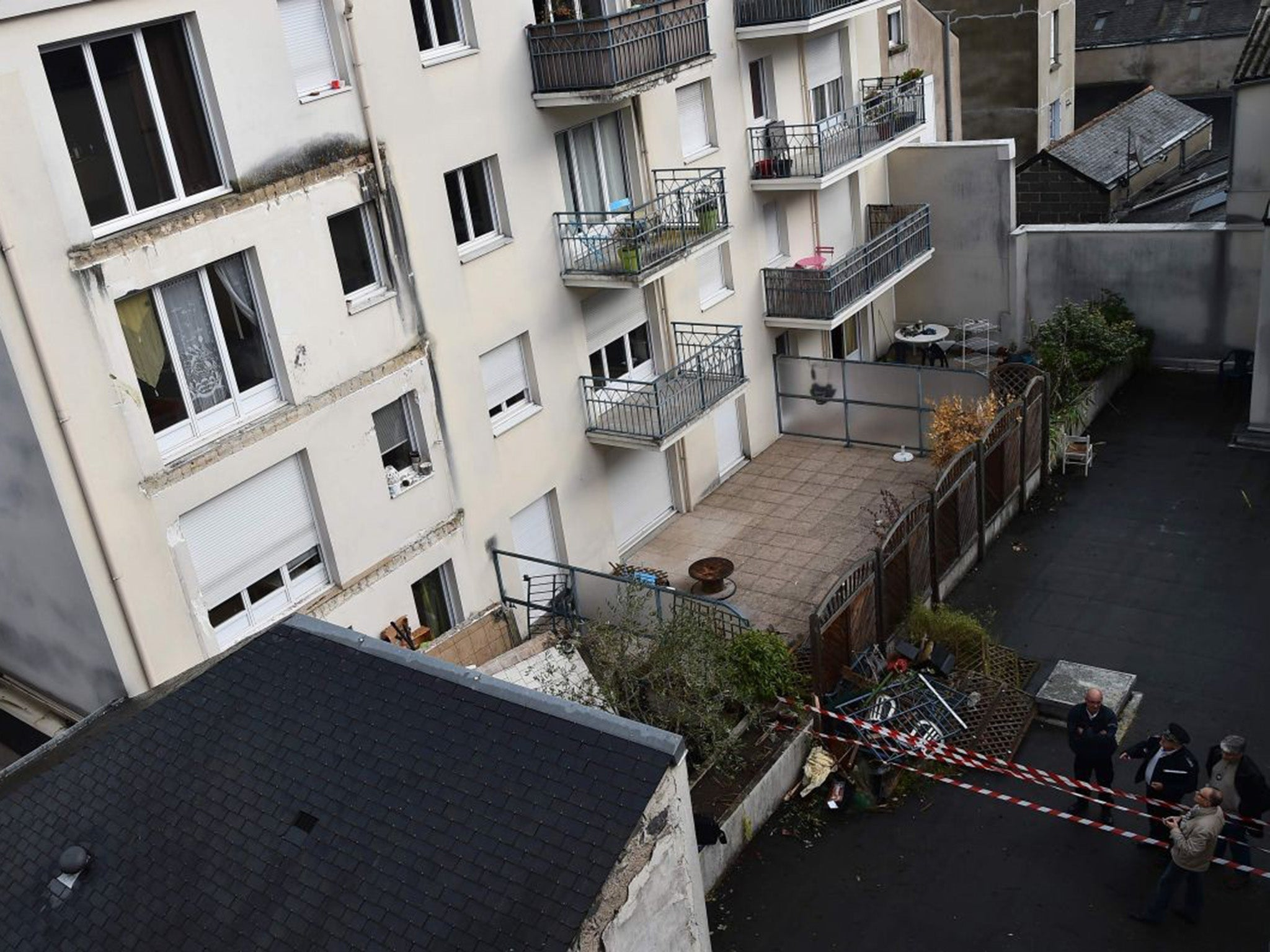 Four people killed at house party when balcony collapses in Angers