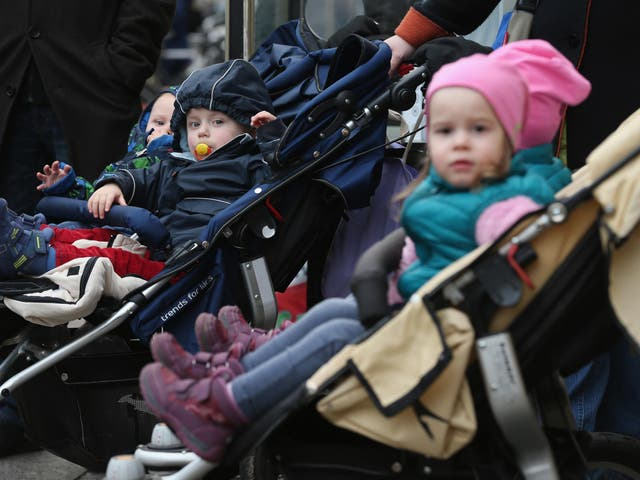 The German government has attempted to bolster the birthrate