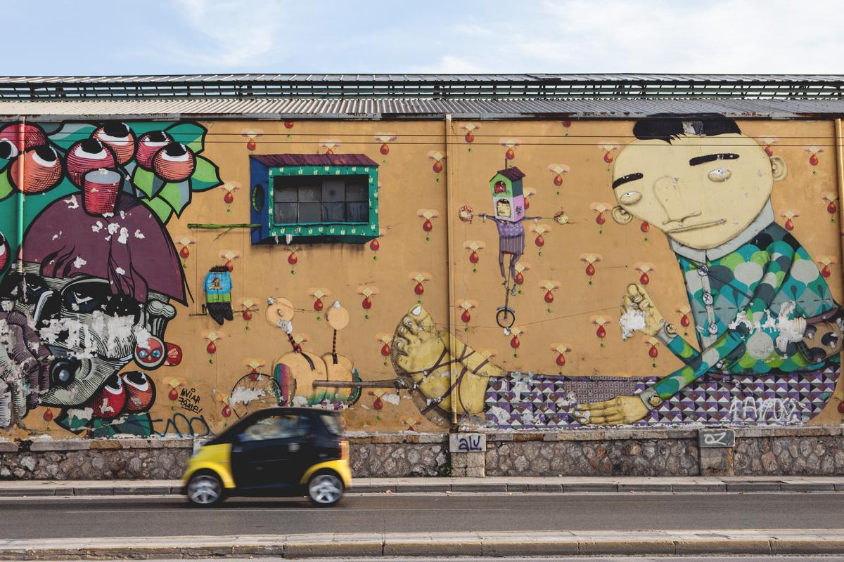 The world's best cities for street art, from Bristol to Berlin and beyond