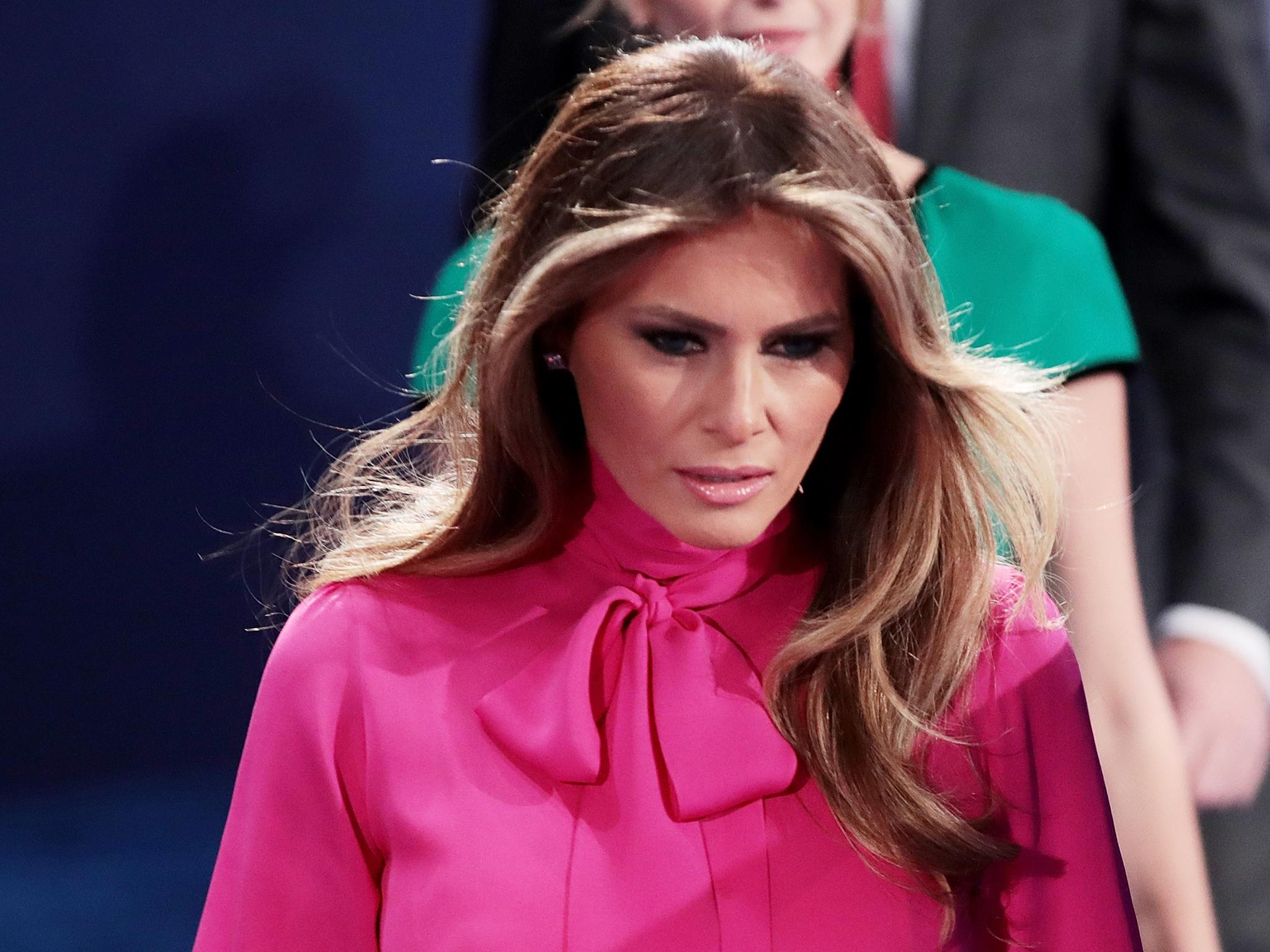 Melania Trump dismisses Donald Trump's sexual assault comments as 'boys  talk' | The Independent