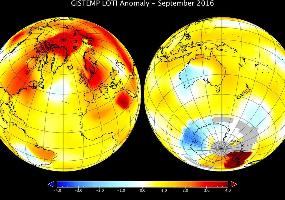 Earth on track for its warmest year on record after hottest