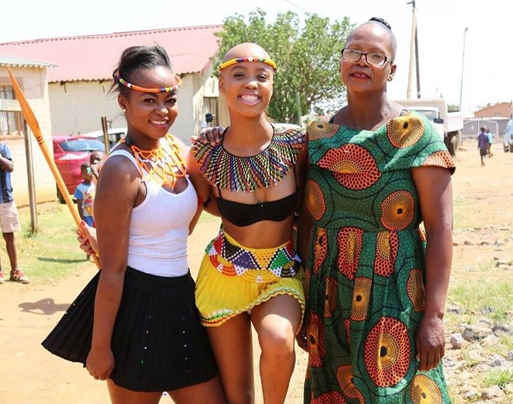 South African Tv Stars Coming-Of-Age Ceremony Censored By -1538