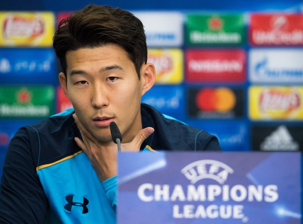Son has been in scintillating form for Tottenham this season