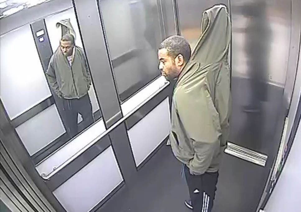 Shoplifter attempts to conceal 7ft Venetian blind in his hoodie