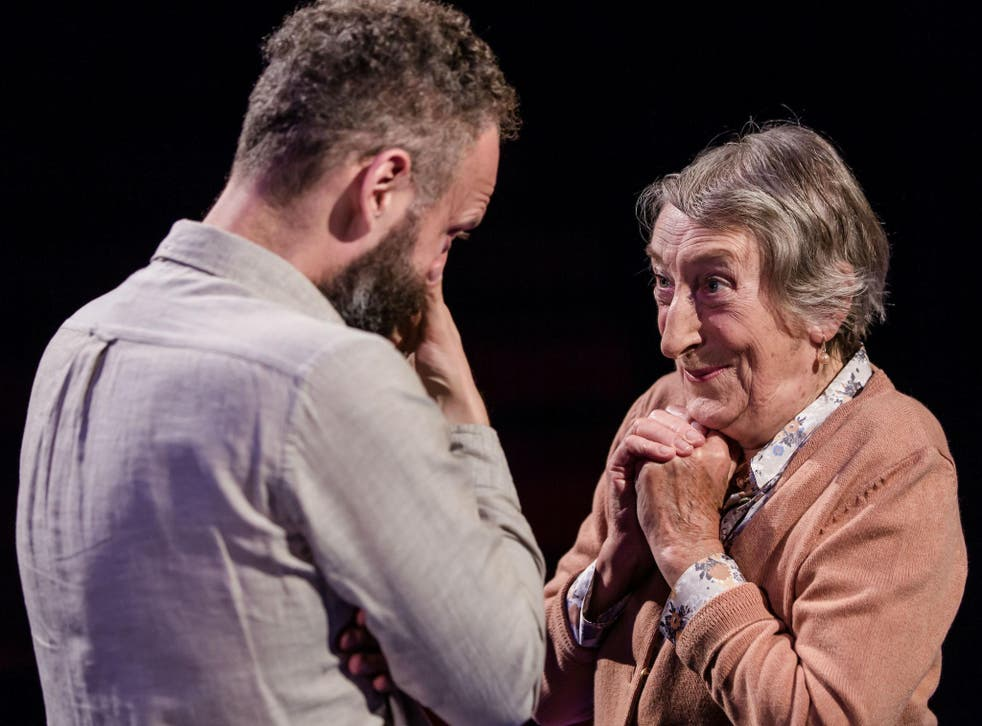Alex Beckett and Janet Henfrey, part of a ensemble cast that performs with breathtaking virtuosity