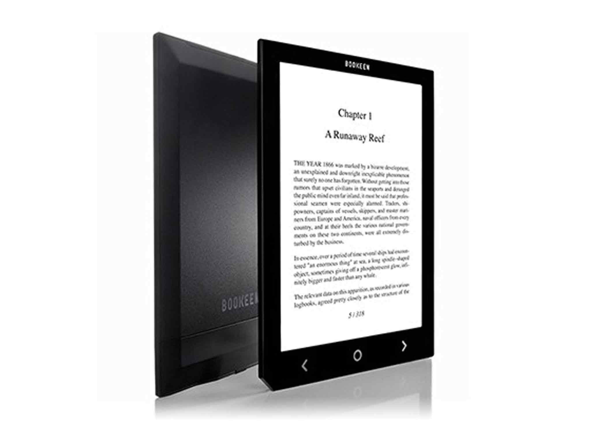 Choose an e-book for easy reading 5