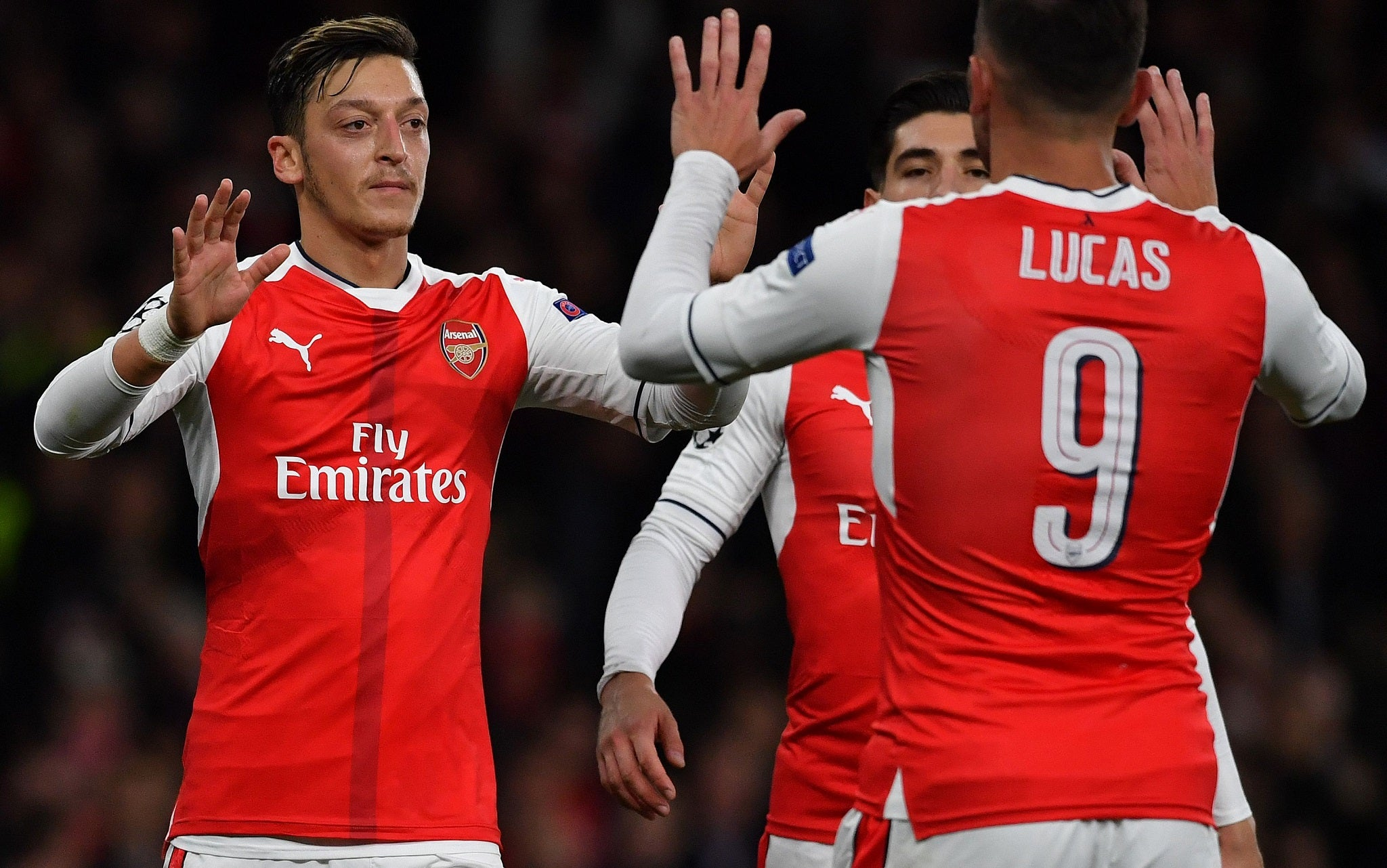 Arsenal news Mesut Ozil be es fifth Gunners player to bag a