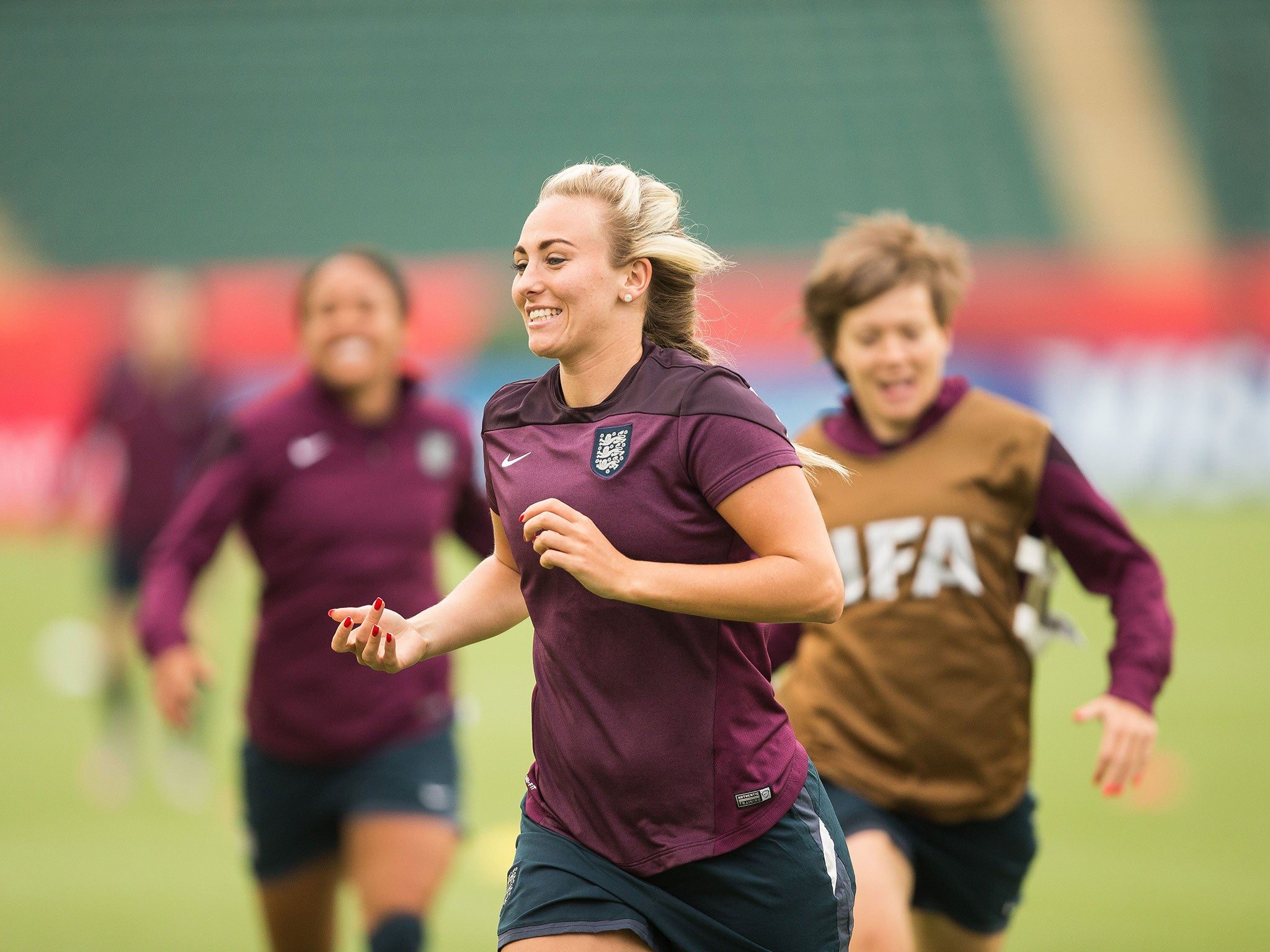 Toni Duggan believes England Women can handle mounting pressure and win  Euro 2017
