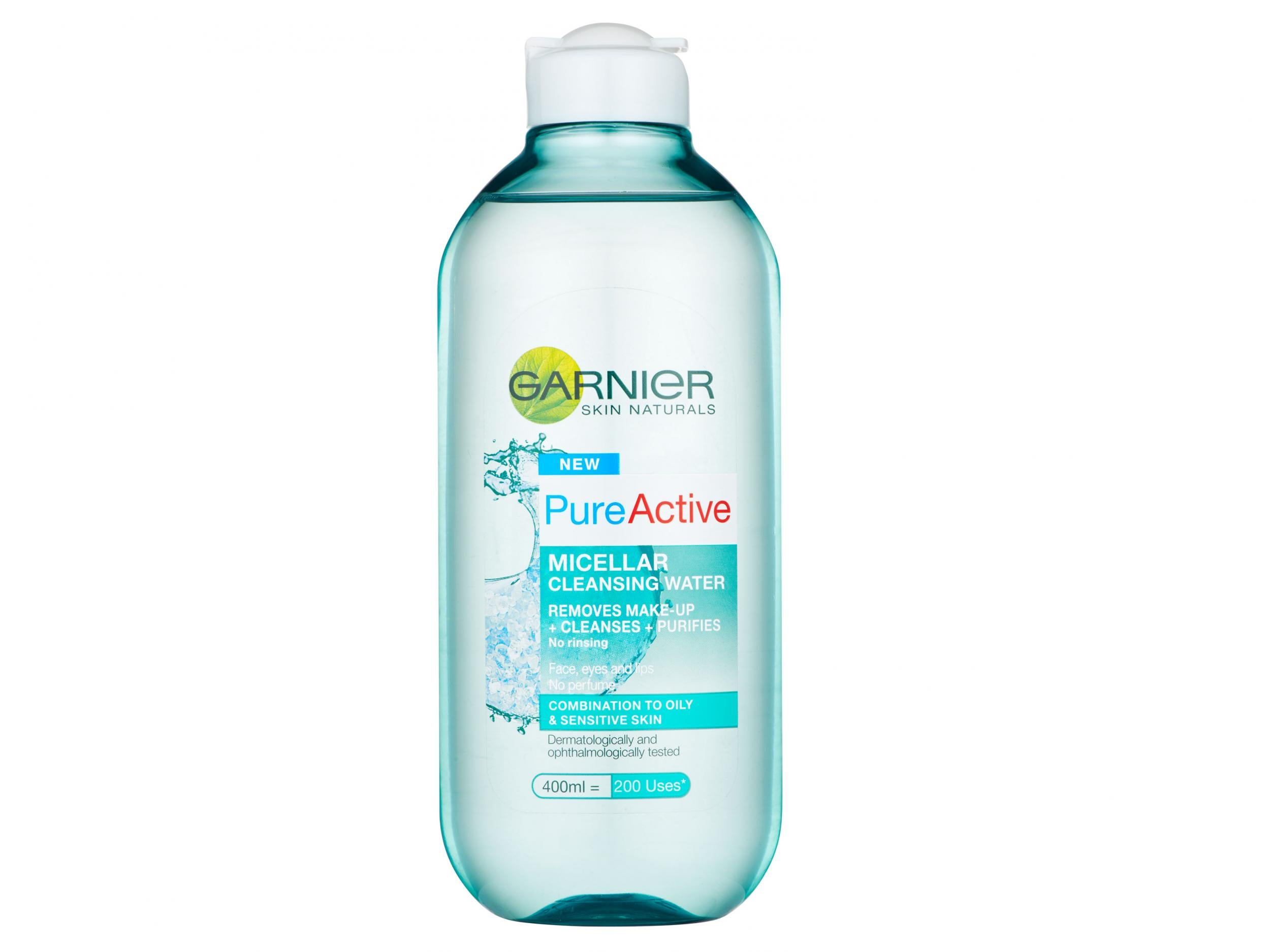 13 Best Micellar Waters And Cleansers For Oily Skin The Independent Garnier Pure Active Acne Care Whitening Cream 20ml Garniers Fuss Free Easy To Use Water Is A Cheap Way Softer Shine An Skincare Regime It Removes Stubborn Make Up From