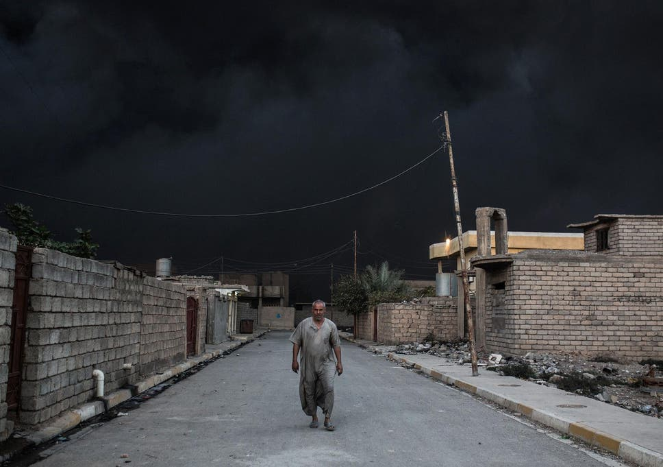 Compare the coverage of Mosul and East Aleppo and it tells