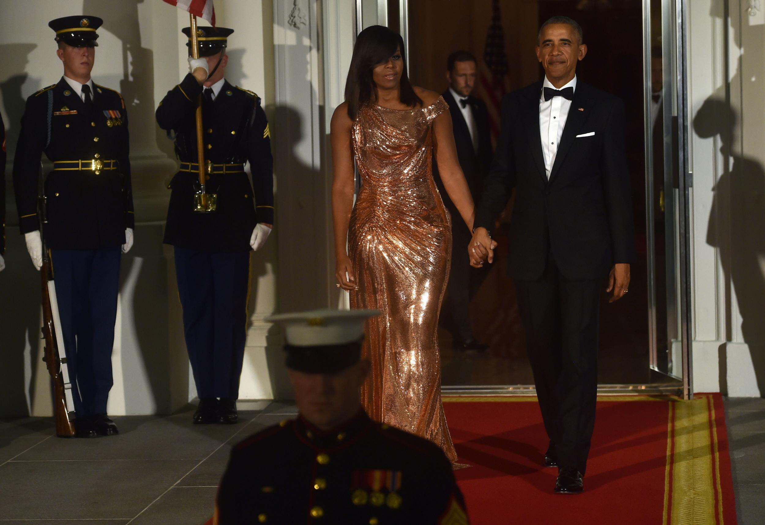 The Story Behind Michelle Obama S Beautiful Final State