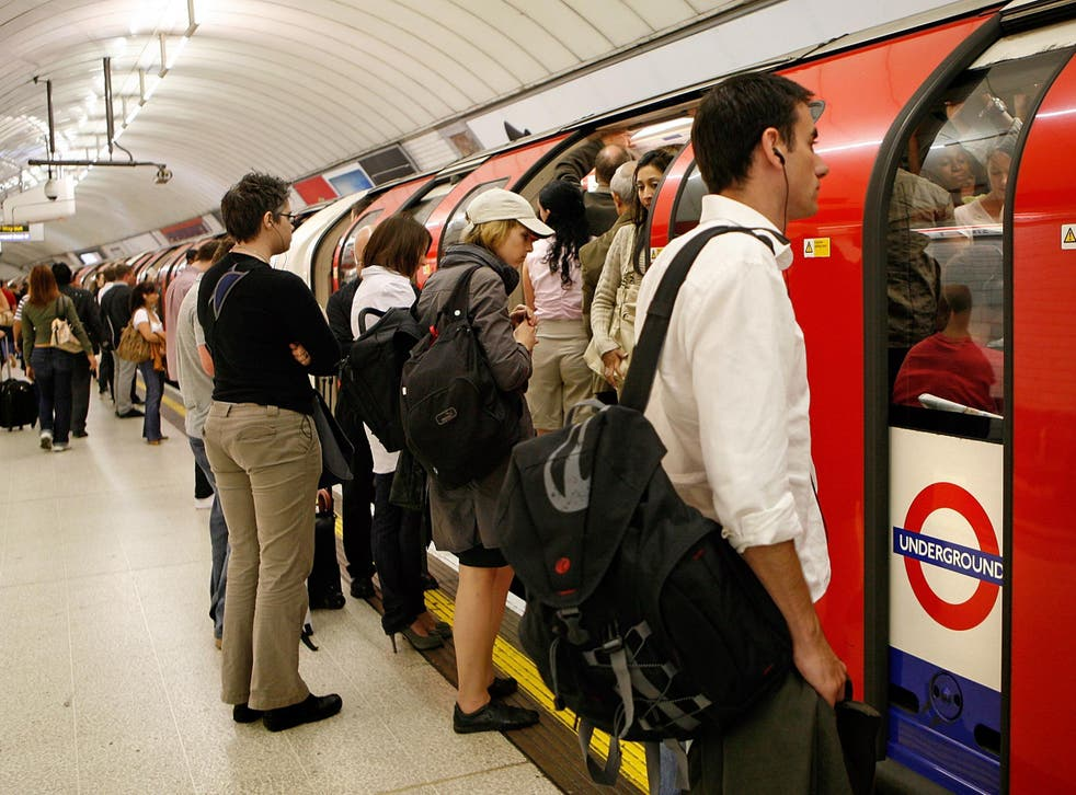 Commuters are facing severe wait times on London's most delayed tube line (file photo)