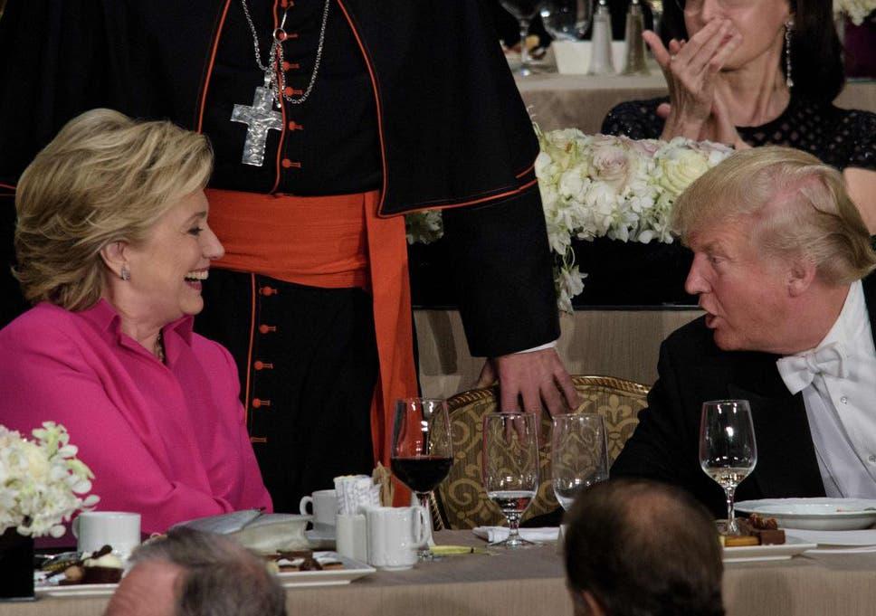 Hillary Clinton roasts Donald Trump: The best jokes from