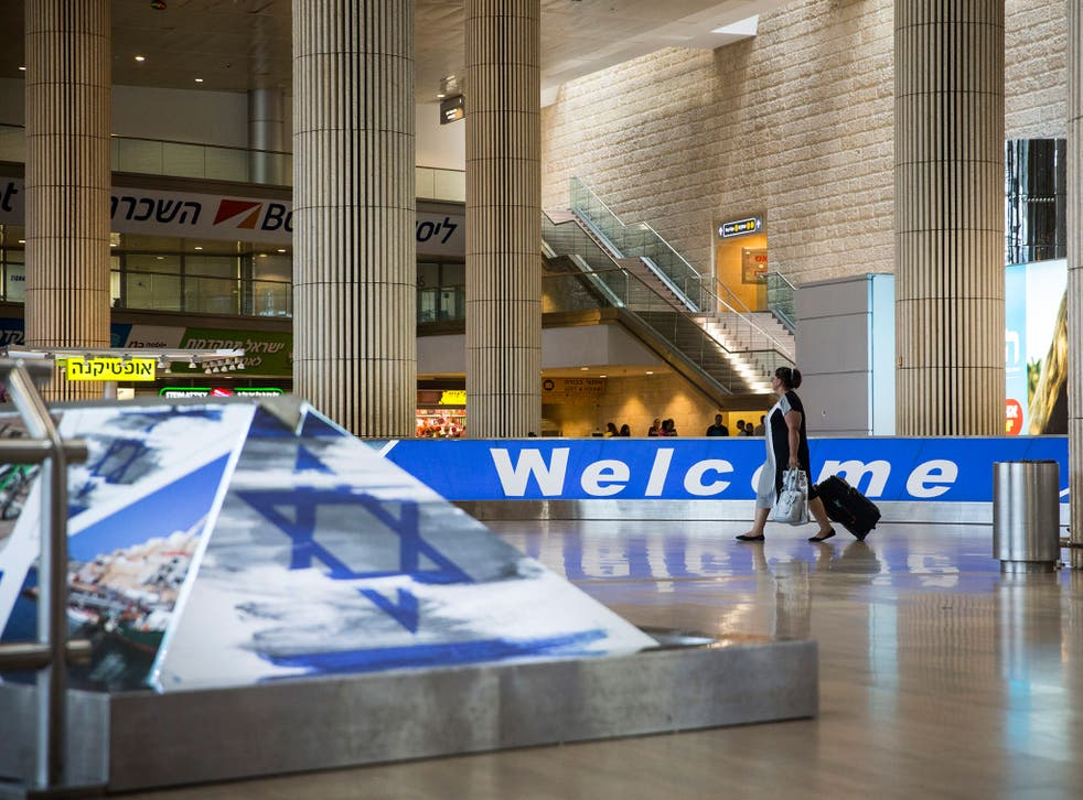 All visitors arriving at Ben Gurion Airport in Tel Aviv are questioned and may be detained if concerns are raised