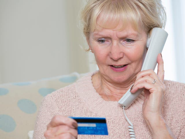 Nuisance calls can be distressing for elderly people