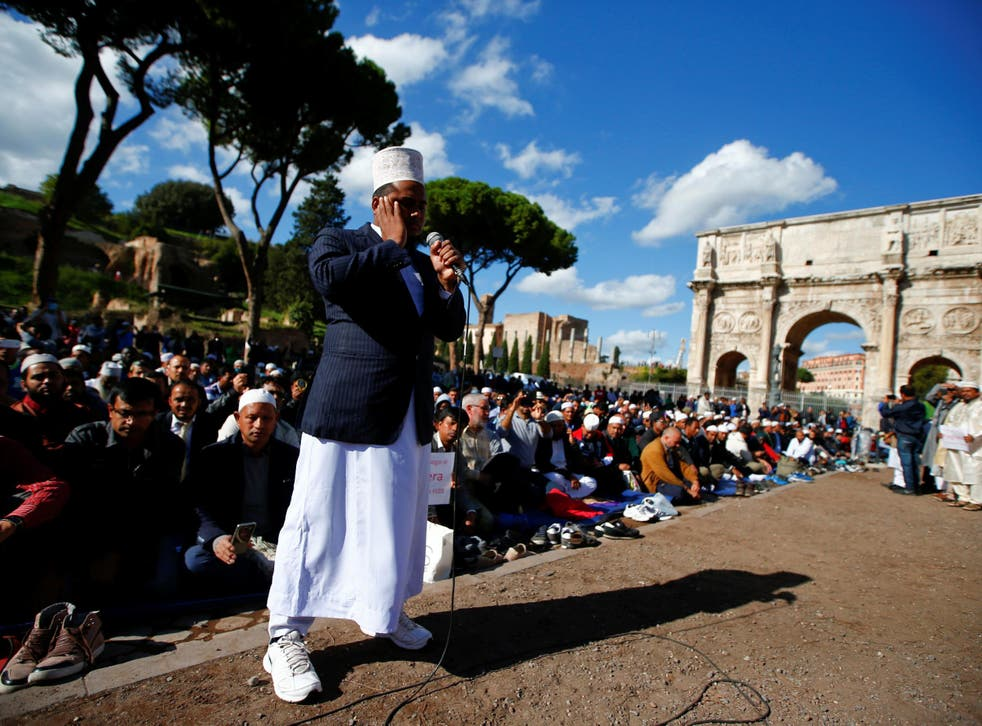 An estimated 1.6 million Muslims live in Italy, yet there are only eight official mosques
