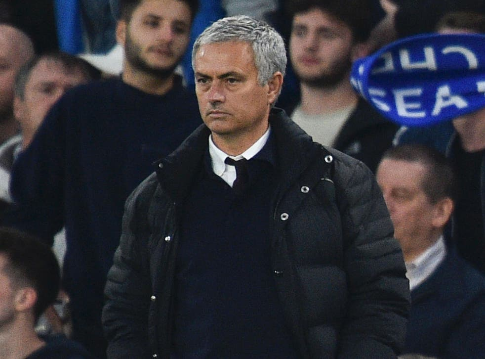 It was Mourinho's first return to Stamford Bridge as a Premier League manager