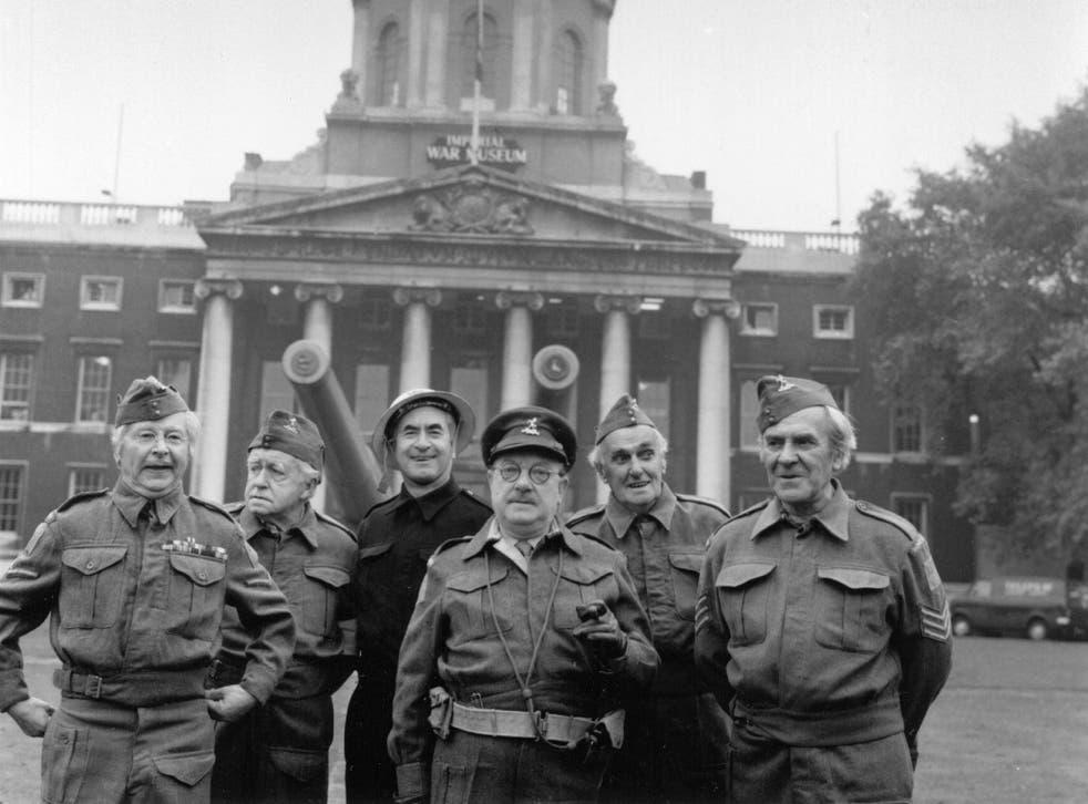 The original cast of Dad's Army