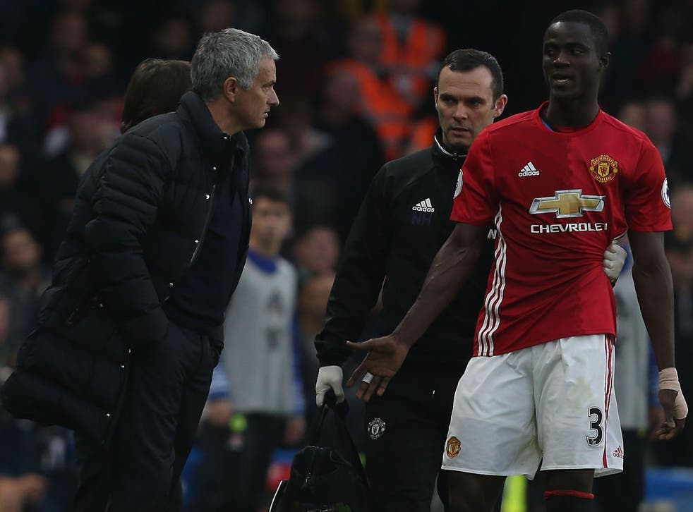Bailly has been missing since the 4-0 defeat to Chelsea