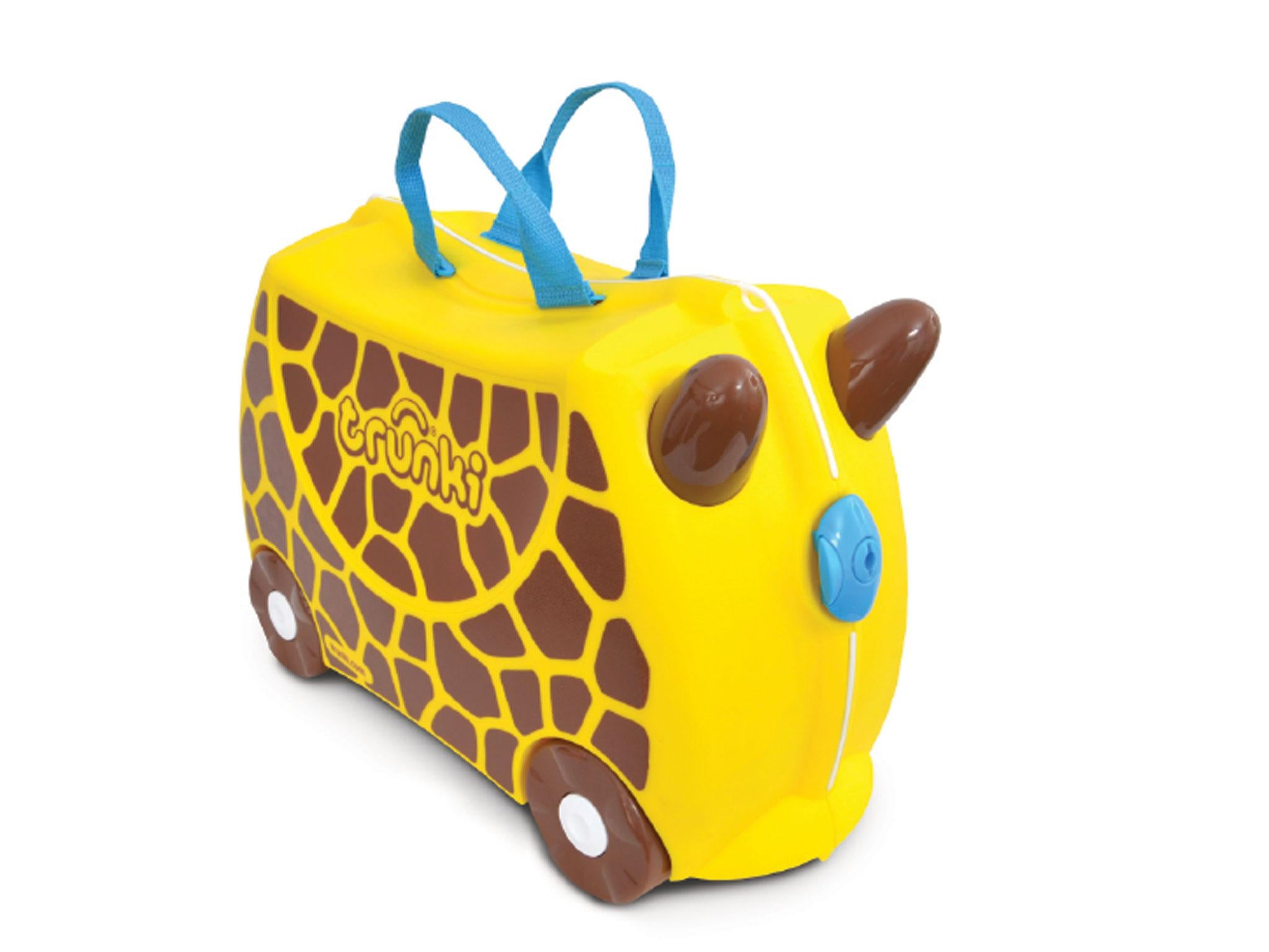 In Theory The Trunki Is Ideal To Fill With Hand Luggage Or Holiday Toys For Your Child Either Carry By Themselves Sit On And Be Pulled Along