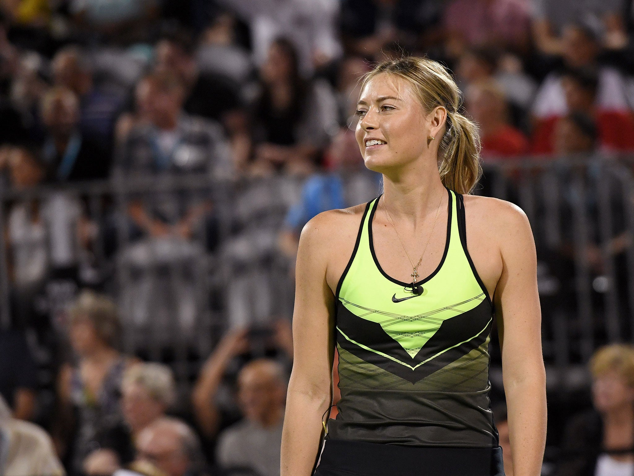 Maria Sharapova announces return from ban at Porsche Grand