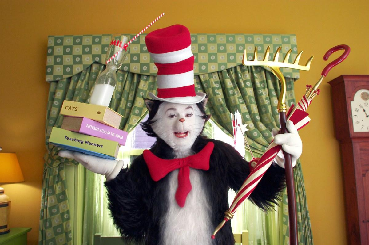 mike myers branded 'diva'cat in the hat co-star: 'it was just a