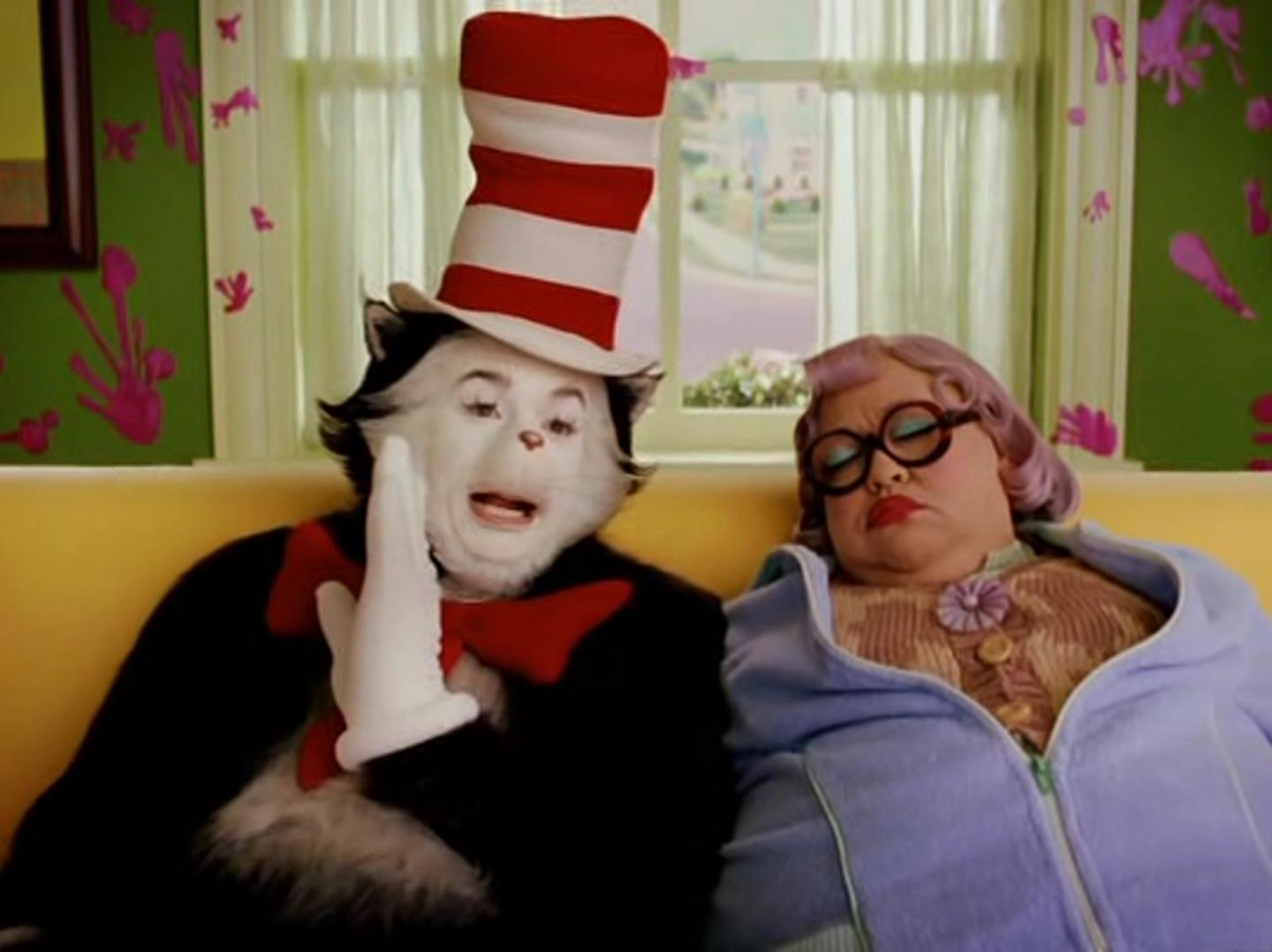 a4d5cbe2 Mike Myers branded 'diva' by Cat in the Hat co-star: 'It was just a ...