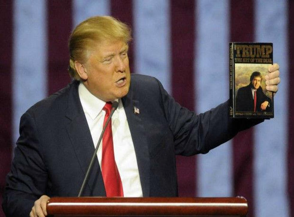 Mr Trump's 1987 tome was a best seller