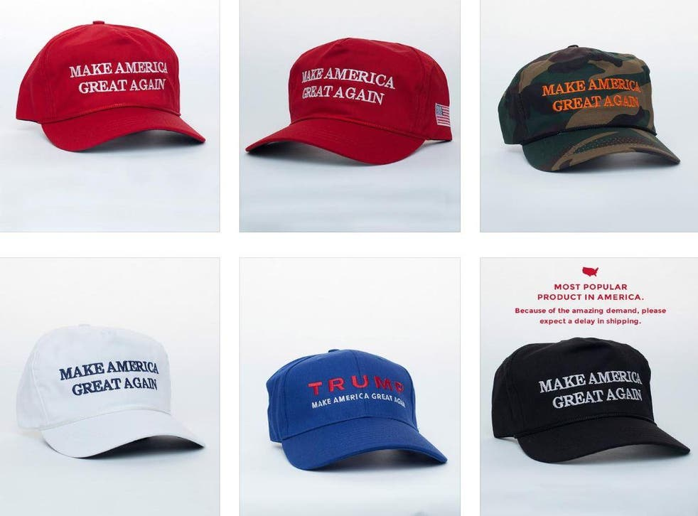 Between June and September, new FEC filings suggest, the Trump campaign spent $3.2m on hats