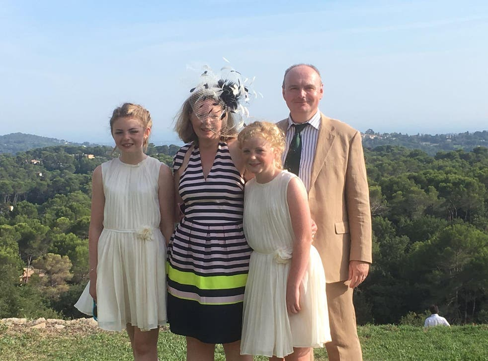 The Keen family were travelling to a wedding in France when Mr Keen was denied boarding