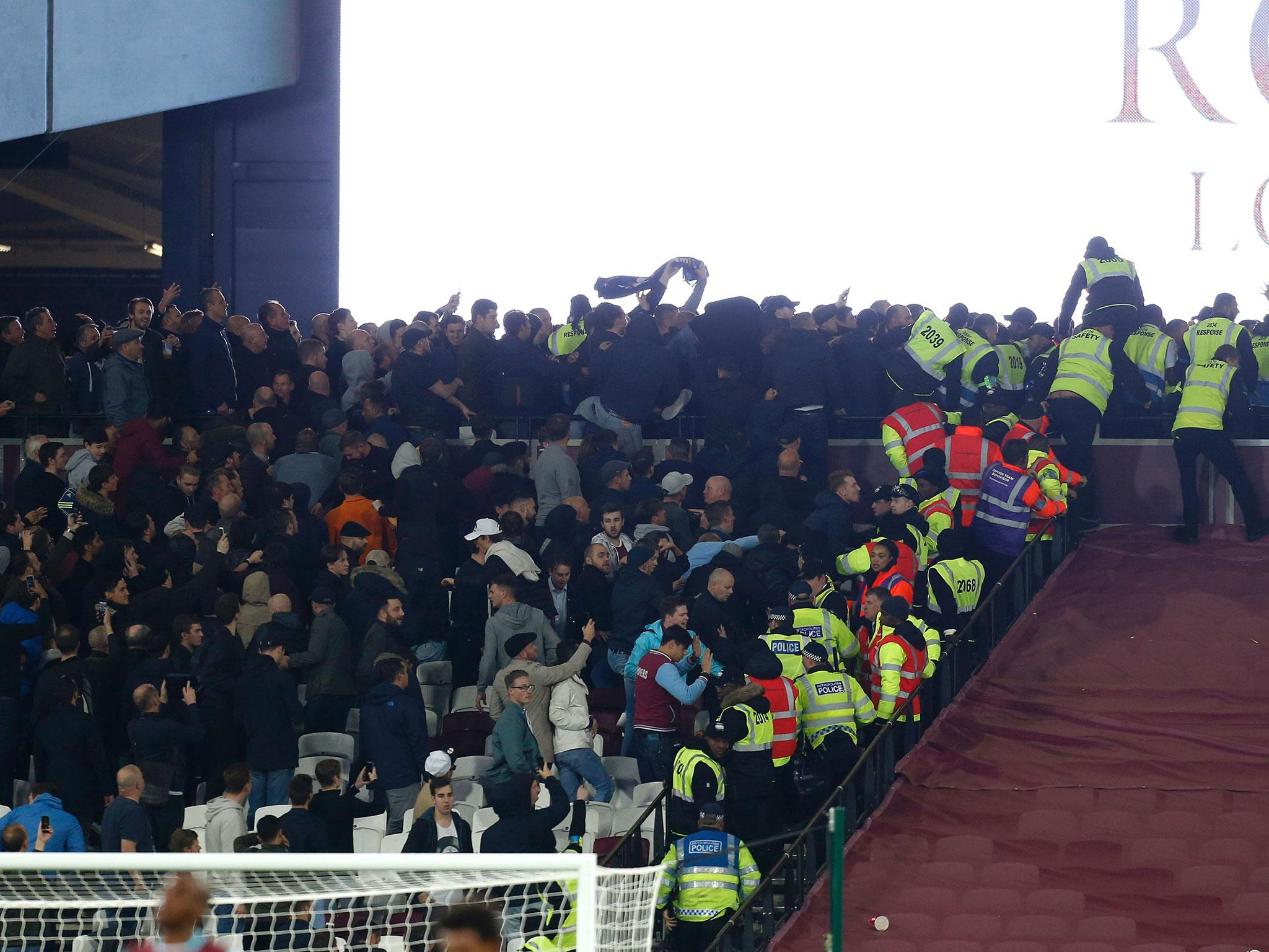 d06c7aa07b Three charged over crowd violence during West Ham United and Chelsea match
