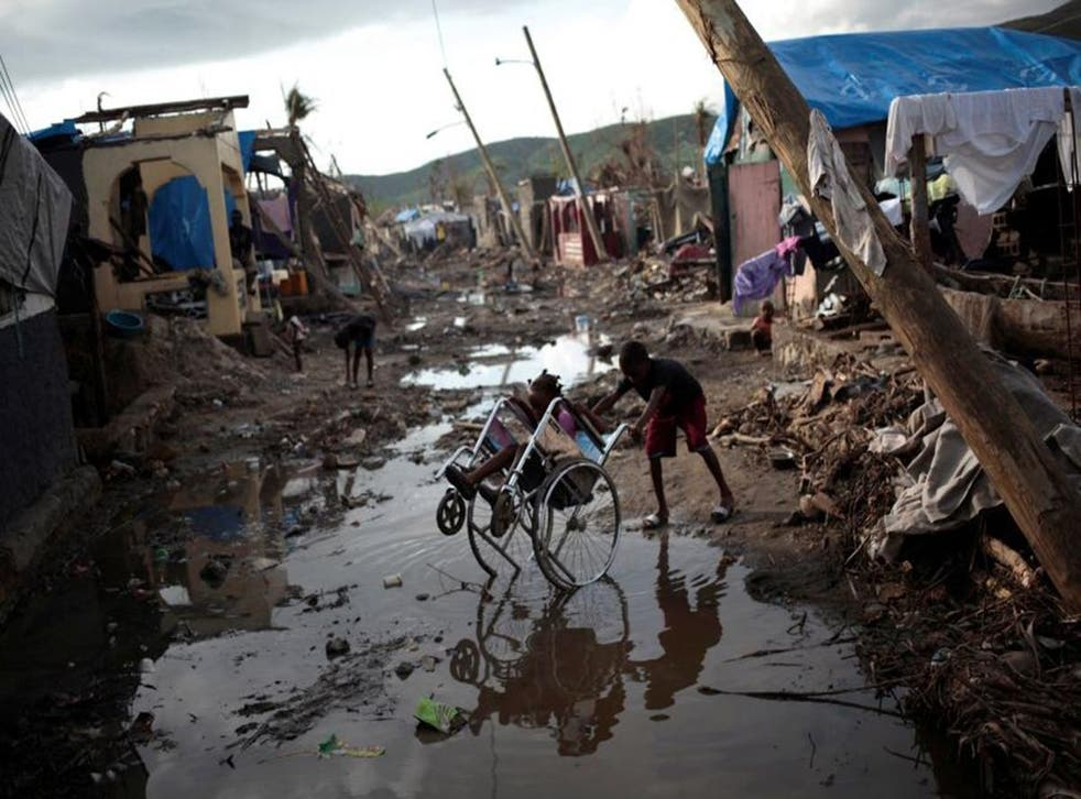 Mr Privert has urged the international community to help more with the recovery effort in Haiti