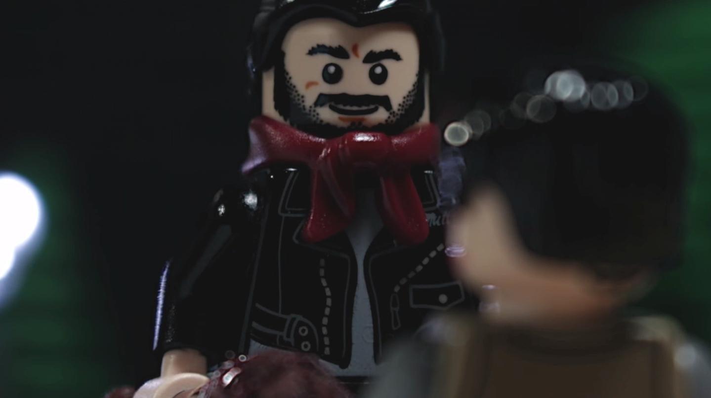The Walking Dead season 7 episode 1: That horrific Glenn scene gets the inevitable Lego makeover