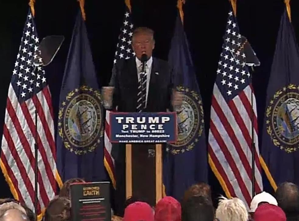 Mr Trump said the scandal was 'bigger than Watergate'