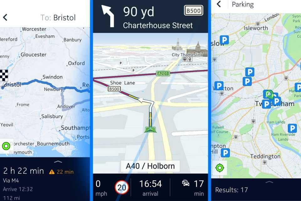 Free sat-nav apps: What's the best free navigation app for