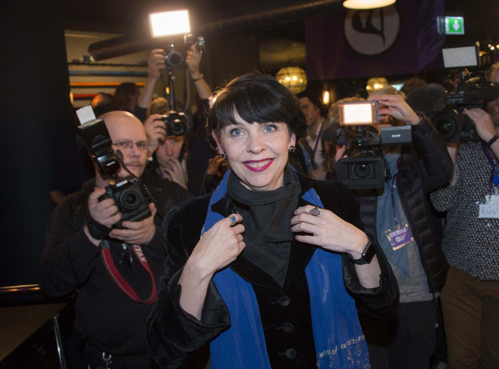 Birgitta Jónsdóttir, Pirate Party founder, admitted she was astonished by its success in the election