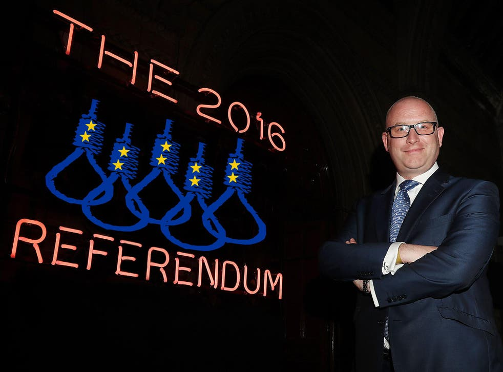 The new Ukip leader Paul Nuttall has been vocal on Brexit