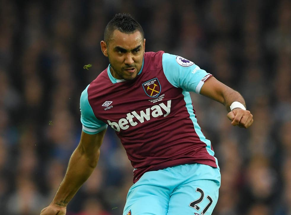 Dimitri Payet could leave West Ham in January