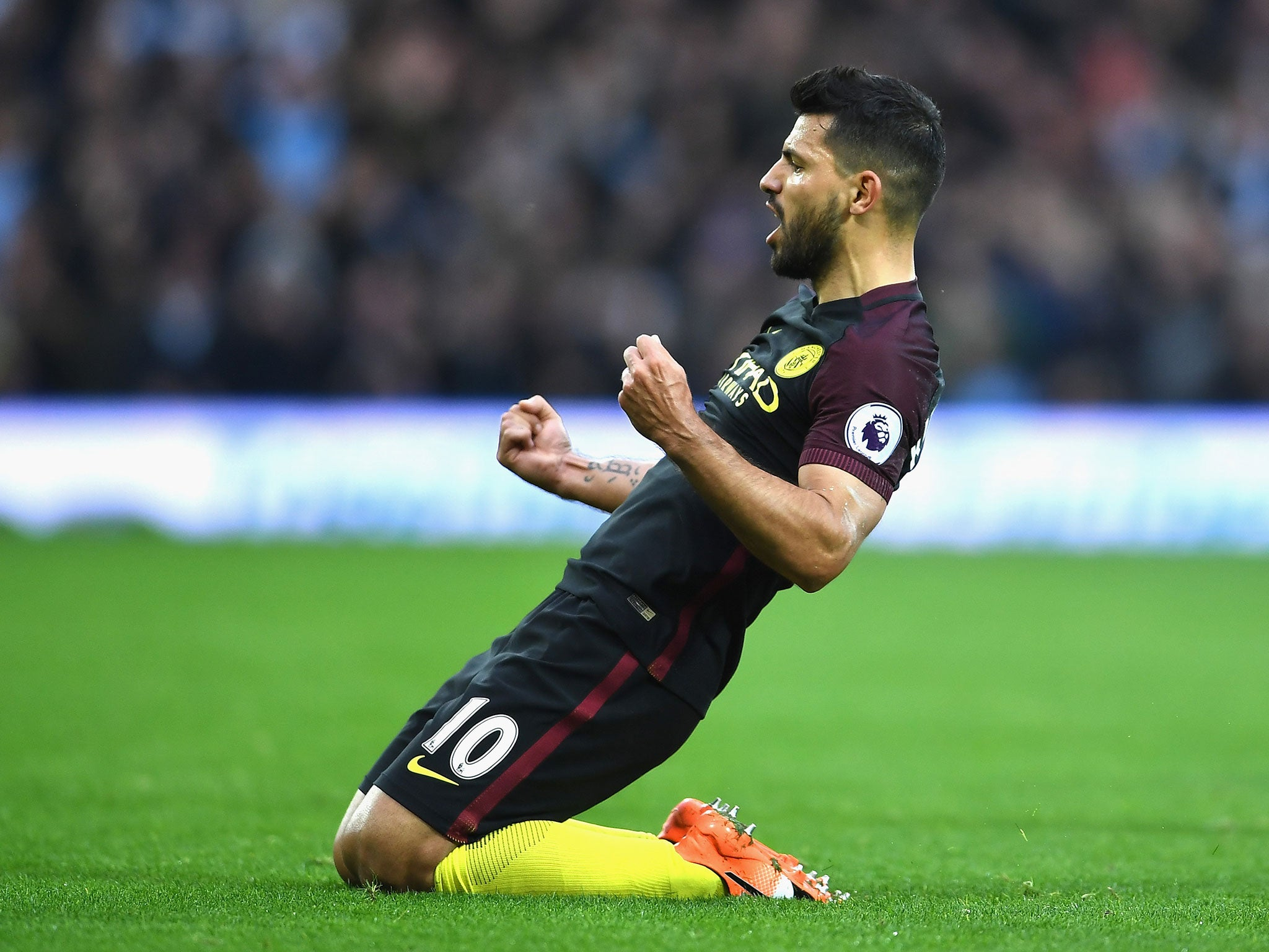 Manchester City news: Pep Guardiola hails Sergio Aguero as one of the best strikers in the world