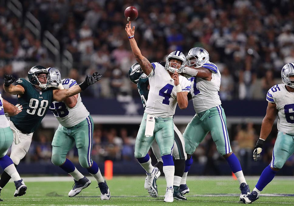 Dak Prescott s overtime touchdown pass to Jason Witten secured victory for  the Dallas Cowboys 6d047a59e