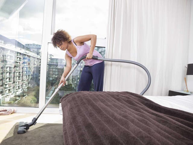 An estimated 50 milligrams of house dust is consumed every day by children,
