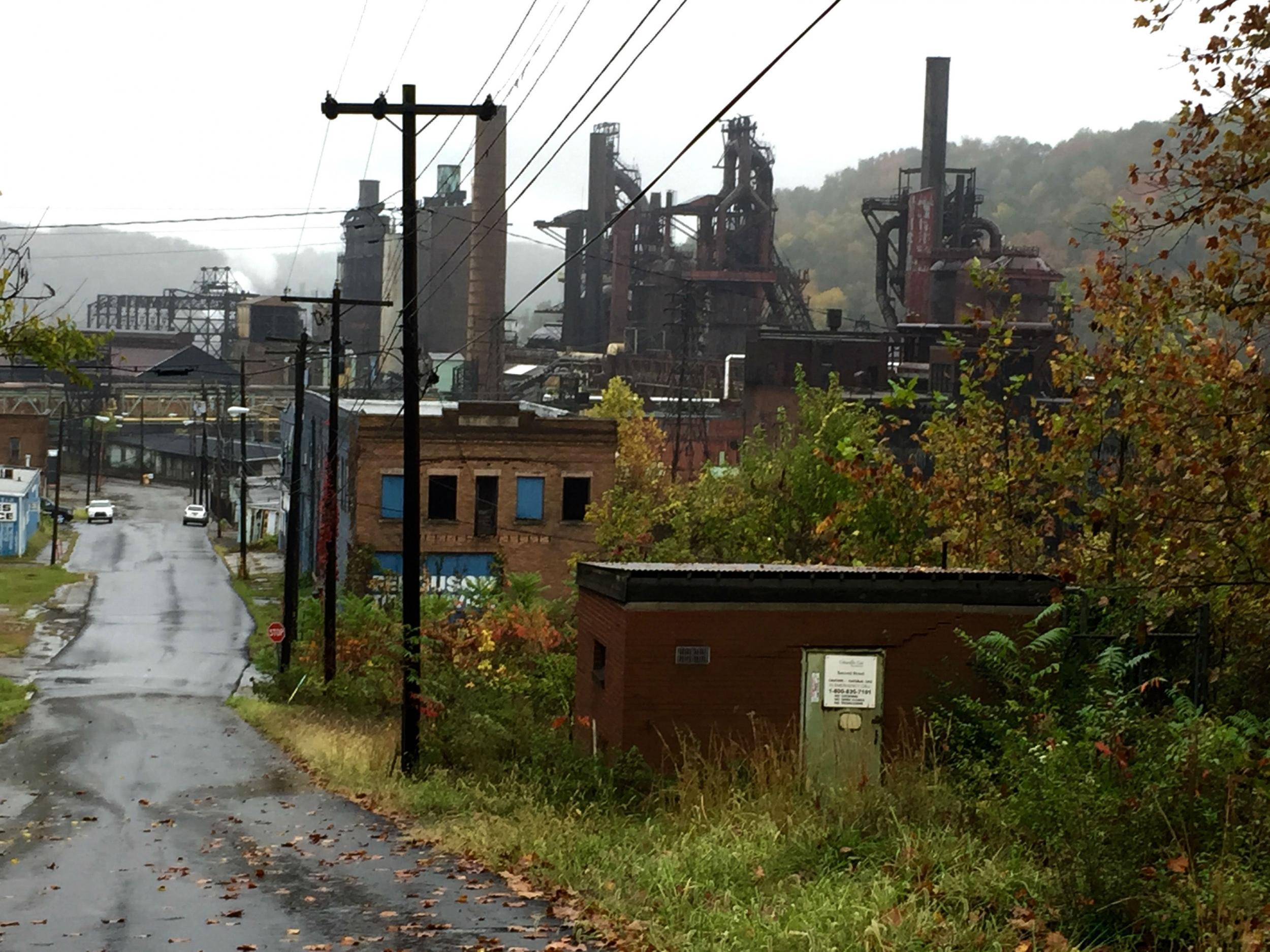 Inside the West Virginia steel town destroyed by Nafta – where 94