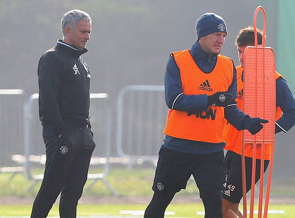 Jose Mourinho appeared to make a U-turn over his decision to banish Bastian Schweinsteiger from United training