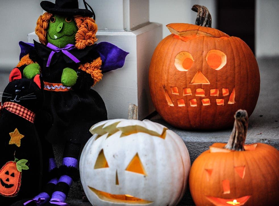 Halloween helped boost supermarket sales in October