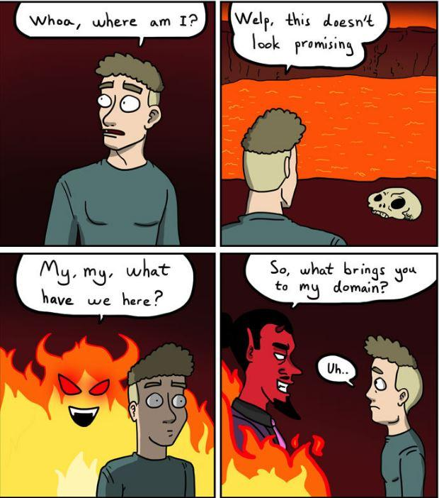 Comic perfectly ridicules Christian stereotypes about gay